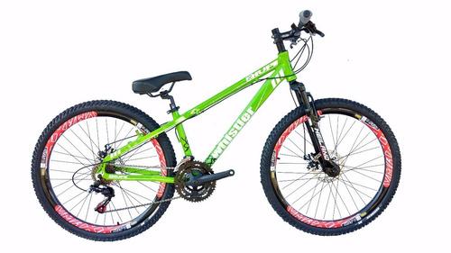 bike 26 wistler hupi freeride cambios shimano freio a disco