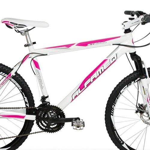 bike aro 26 quadro alumínio alfameq kit shimano 21v disco