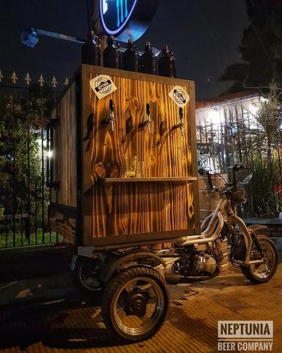 bike beer moto cervecera chopera cerveza eventos franquicias