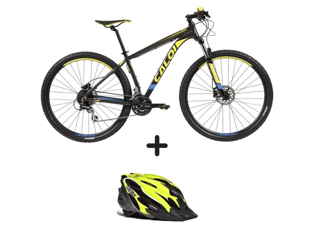 aca90cb8c bike bicicleta caloi explorer comp aro29 2019+capacete asw. Carregando zoom.