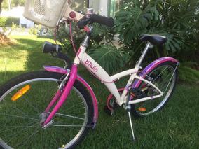 1e837a3ec Bicicleta Btwin Feminina Bicicletas Infantis Aro 16 - Ciclismo no Mercado  Livre Brasil