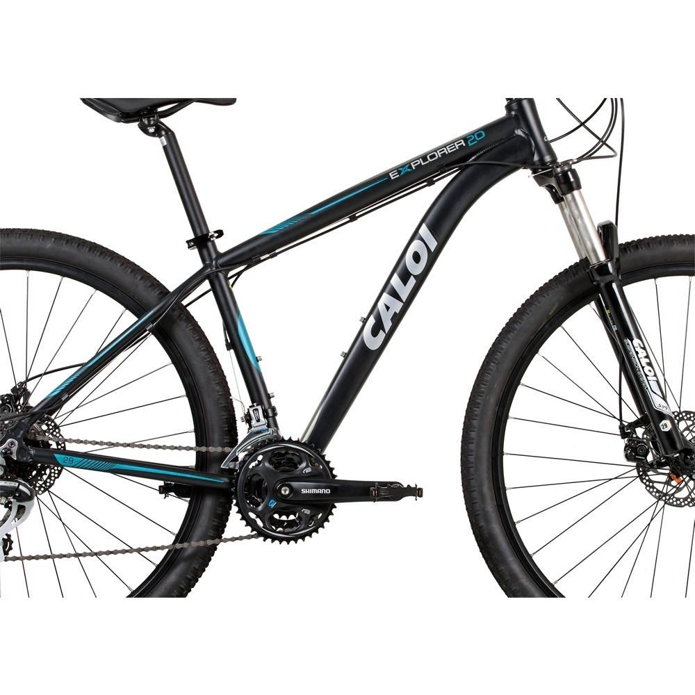 e44756183 Bike Caloi Explorer 20 T19 Aro 29 Mtb Trava Guidão - R  1.999