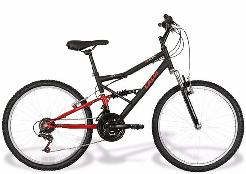 bike caloi shok aro 24 infanto juvenil