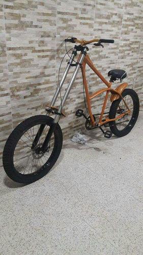 bike chopper artesanal customizada