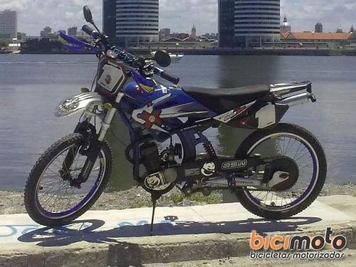 bike cross aro 20 com motor 50cc bicimoto exclusiva