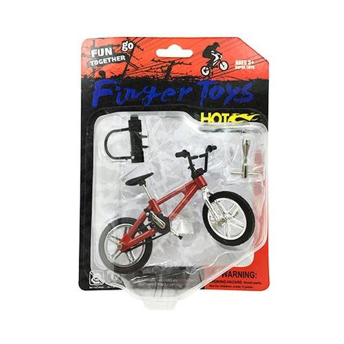 bike de dedo bike hot c/ acessórios brinquedos pica pau
