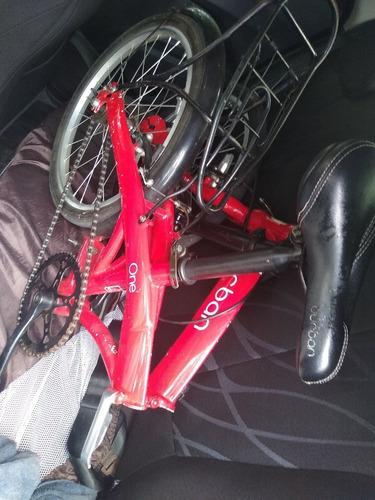 bike durban one, dobrável