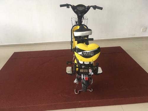 bike eletrica aima k8-f amarela