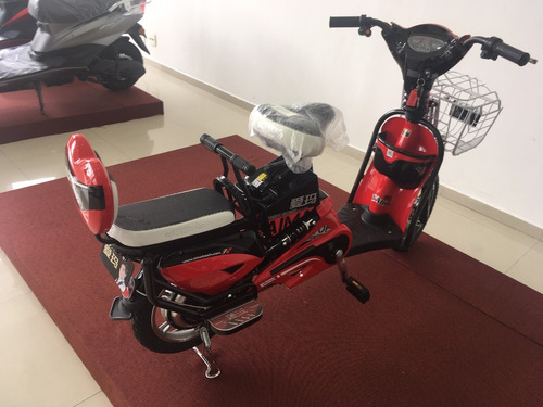 bike eletrica aima k8-f vermelha