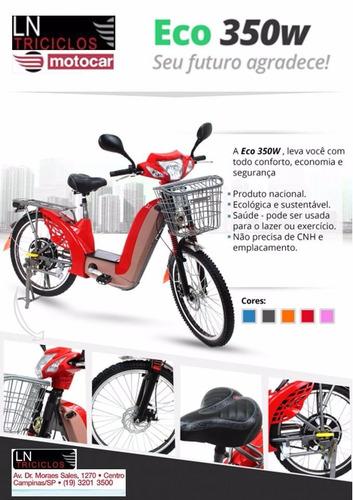bike elétrica eco 350w sousabike 2018.