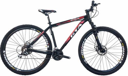 bike mtb aro 29 alumínio gta 24 vel - freio disco hidráulico