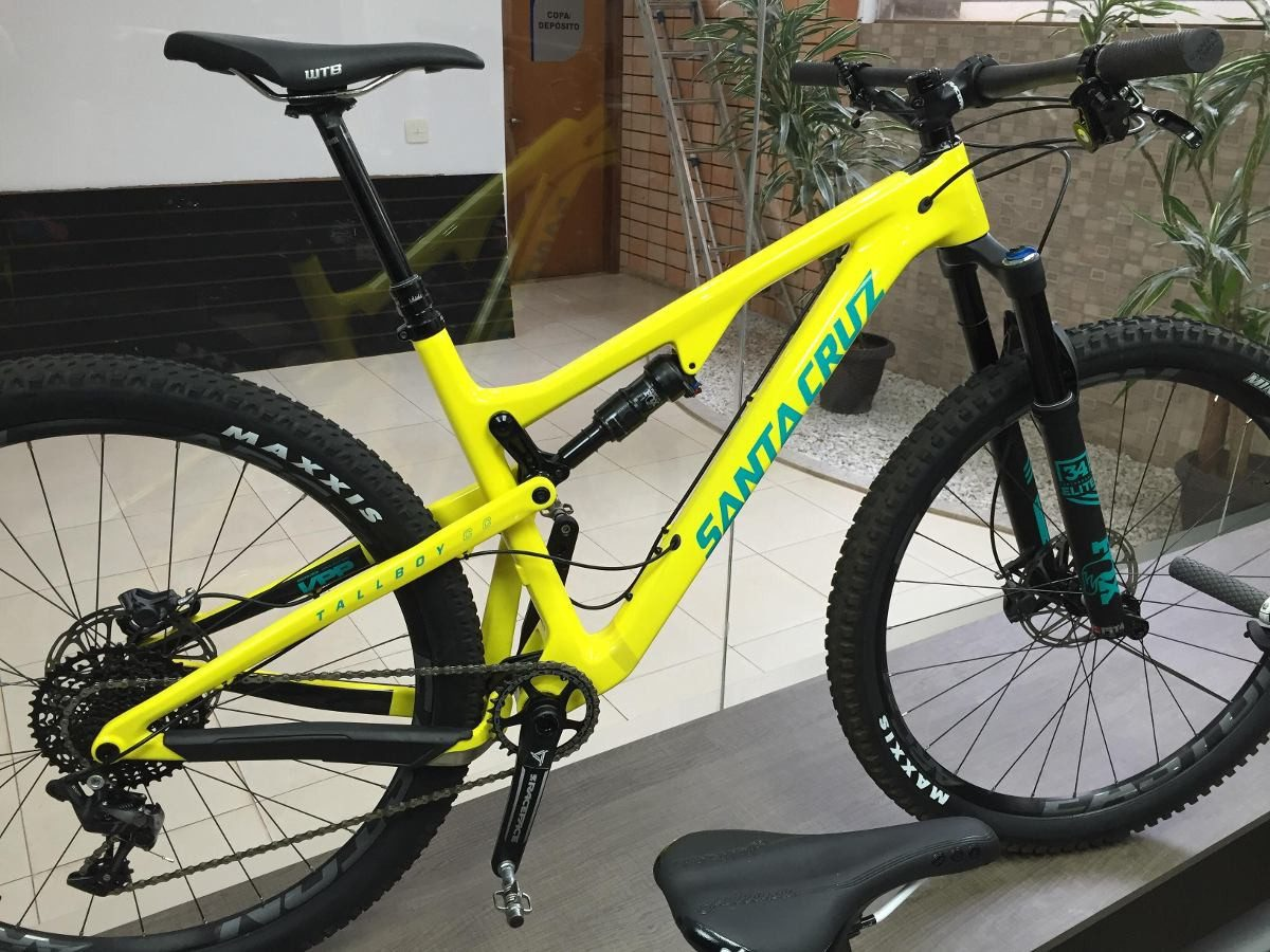 Bike Santa Cruz Tallboy Carbon Cc 29 Com Kit X01 Xc - Tam L - R ...