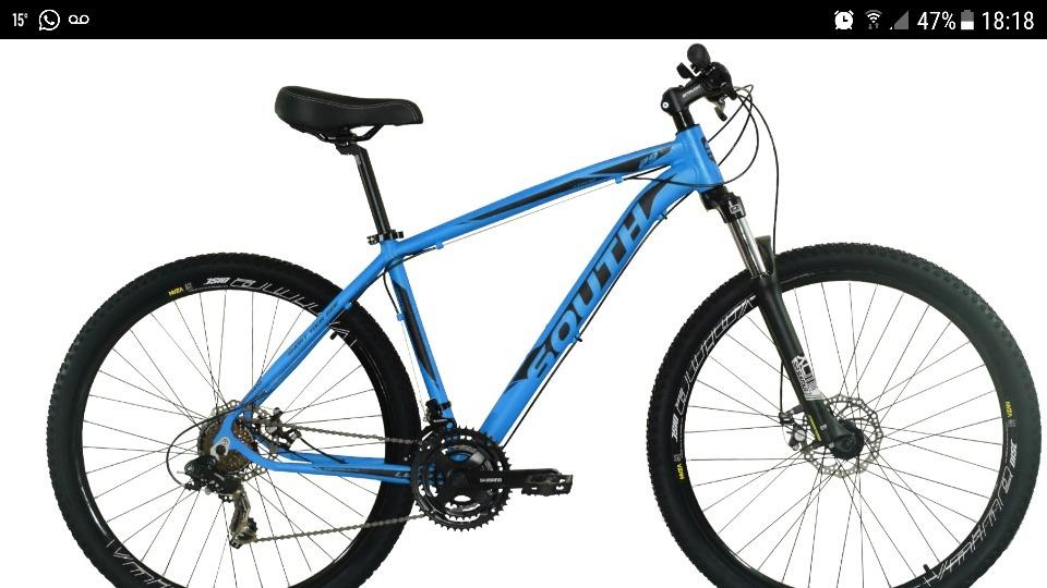 44b7c5776d10c bike south legend 29 21 v cambios shimano+ kit sinalização. Carregando zoom.