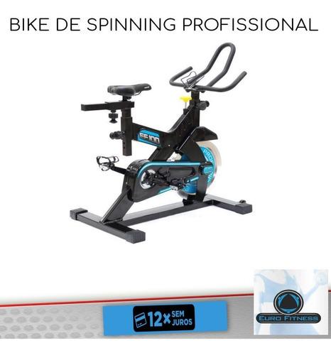 bike spinning profissional com painel digital roda de 31kg