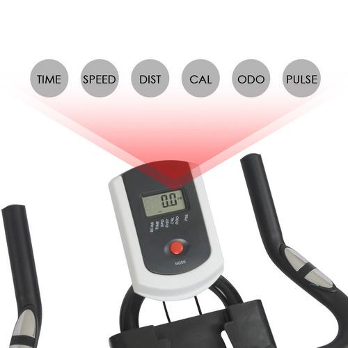 bike spinning racing profissional ergometrica digital 120kg