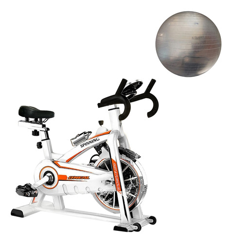 bike spinning semi profissional oneal com bola suíça 65cm