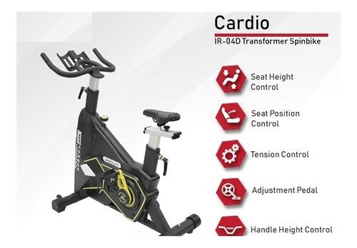 bike spinning transformers flywhell 22 kg 150kg ergometrica
