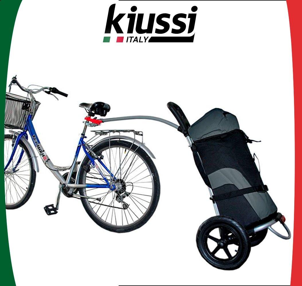 46d7b30044 Bike Trailer Carrinho Para Bicicleta Urbano Kiussi