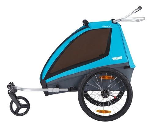 bike trailer para 1 ou 2 bebes thule coaster xt