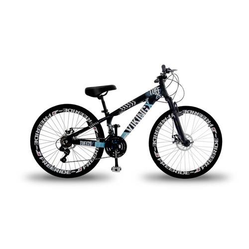 bike vikingx tuff freeride aro 26 freio à disco 21 marchas