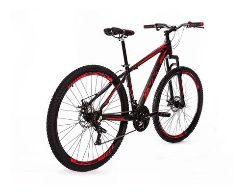 bike xks alumínio aro 29 freio a disco 21v kit shimano