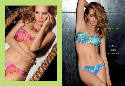 bikini bandeau tasa soft marcela koury. verano 2017 sale!!