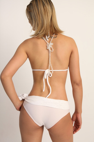 bikini cortina com renda