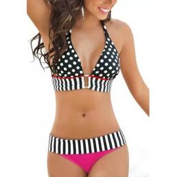 d1794de30d61 Bikini Dama Estilo Vintage, Traje De Baño Mujer Hermoso