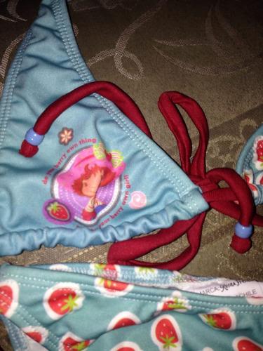 bikini de niña de rosita fresita talla5años