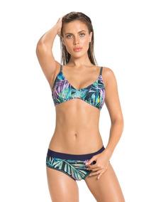 19ee6badfe13 Bikini De Tres Piezas Con Camiseta Top, Panty Y Camiseta .