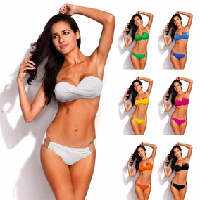 Bikinis Baño 2017 Para Tiro Gorditas Alto Mercado Trajes De En nvNm08wO