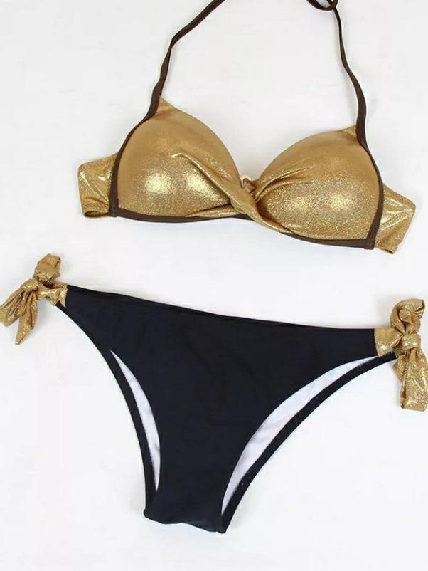 zapatos elegantes estilo máximo tienda Bikini Dorado