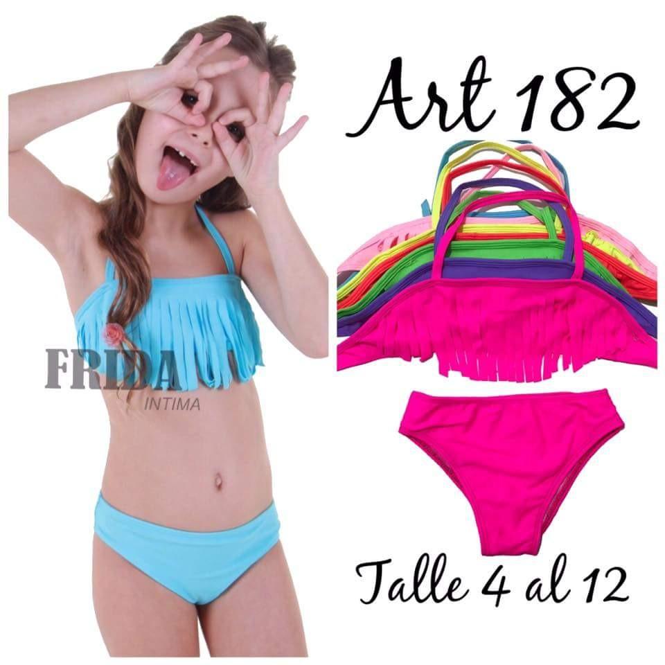 ce0725d52adb Bikini Flecos Para Nenas Verano 2018/2019