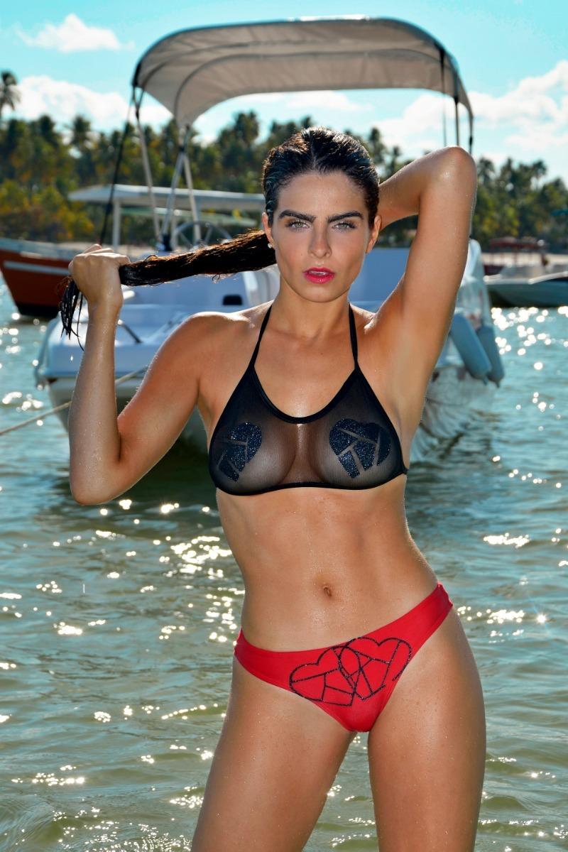303afa1338 Bikini Ksi Verano 2019 Conjunto Heart - $ 1.190,00 en Mercado Libre