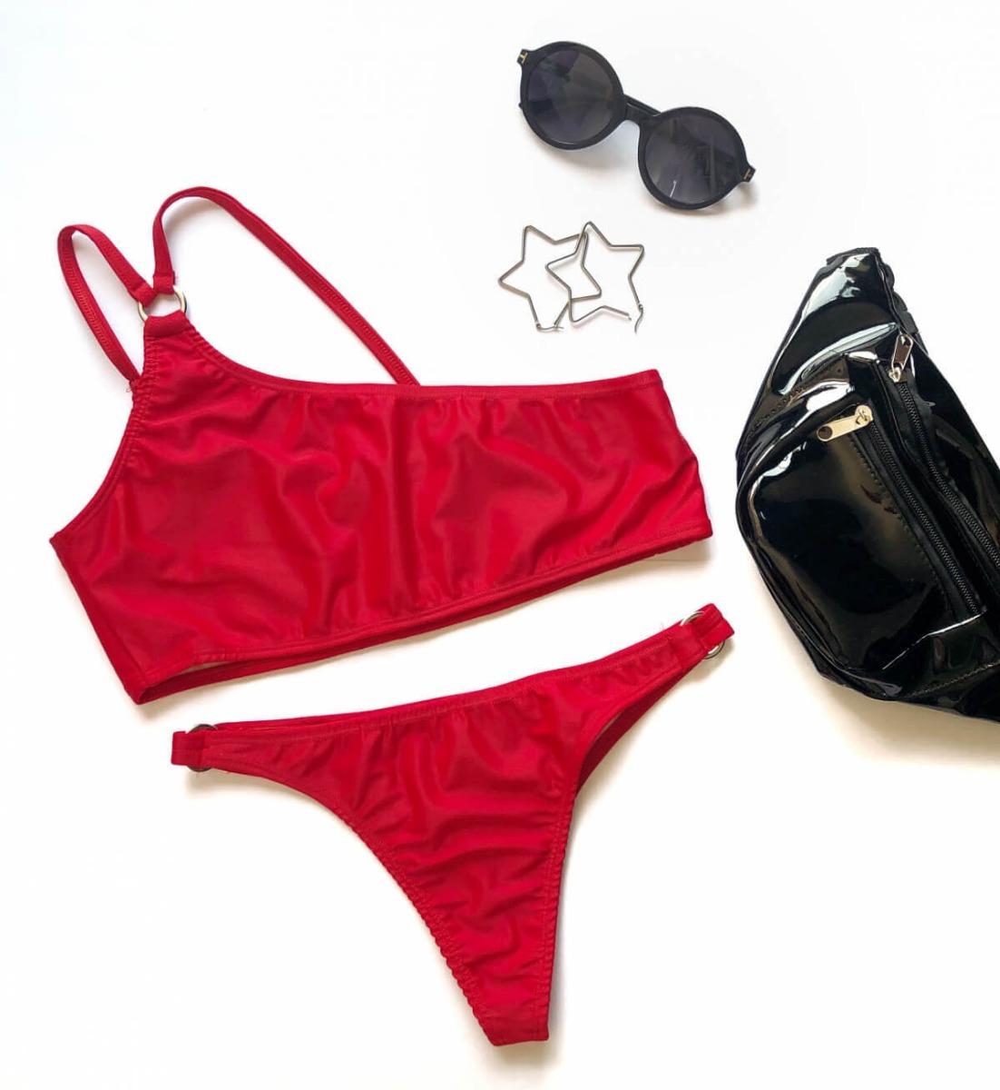 d9c7357ce Características. Marca Indumentaria ChanDion  Modelo Bikini 1 Hombro   Género Mujer  Tipo de traje de baño ...