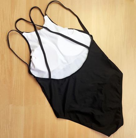 bikini mujer traje de baño monokini rombos envío gratis!