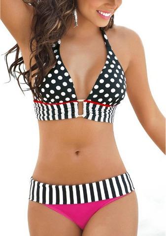 bikini mujer vintage, hermoso traje de baño mujer