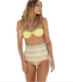 53b7d6fc330d Bikini Retro Vintage, Traje De Baño Mujer Push Up
