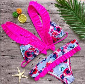 d02acaf0de5 Bikinis Con Vuelos - Trajes de baño Mujer en Mercado Libre Chile