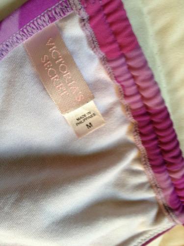bikini solo top straples victoria´s secret t/m lunares