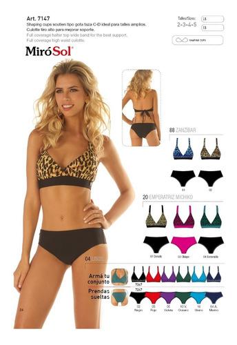 bikini soutien tipo gota taza miró sol