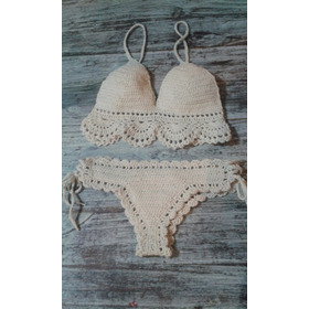 Bikini Tejida Al Crochet