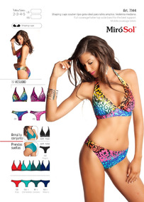 1d8d0984d096 Bikini Tipo Gota Estampado Miró Sol Antes 1560 (ahora $1280)