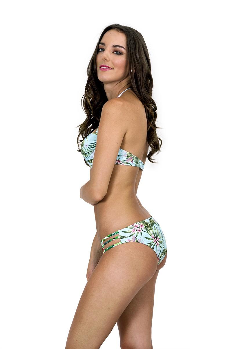399326f829ac Bikini Tiras Estampado Tropical Exótico .