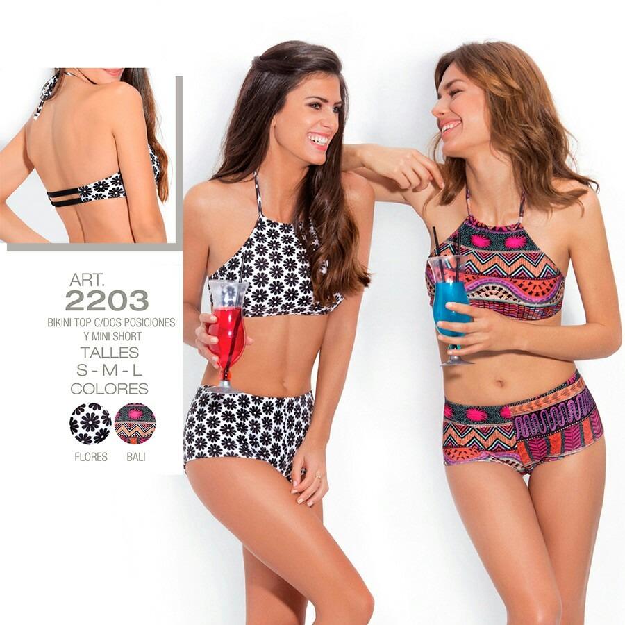 ShortTalles2 Mini Top 3 Bikini Y 4 C2 Posiciones iPuOkXZ