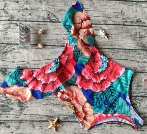 bikini traje de baño mujer hombros descubiertos pads envío g