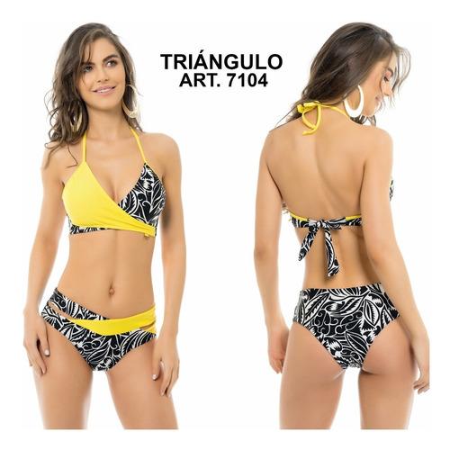 bikini triangulo colaless tasa soft removible 7103 miró sol
