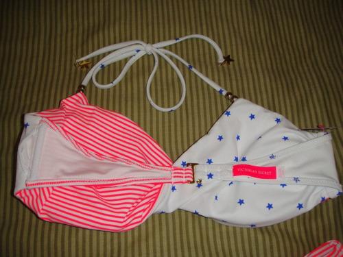 bikini victorias secrets rayas y esrellas talla medium ( 614