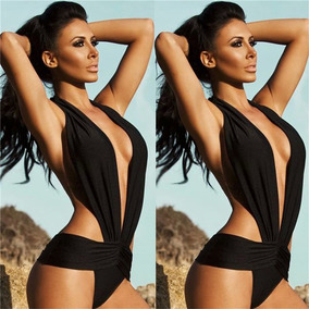 97a035665 Trajes Baño Mujer Vintage Bikini Alto Monokini Talla 5 A 11