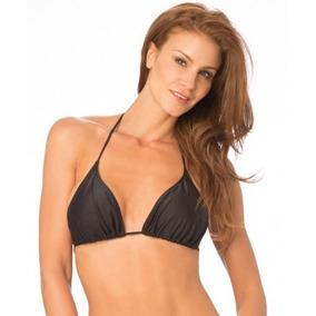 3efb380895237 Bikinis Triangulo Lisas Por Mayor Mujer - Trajes de Baño en Mercado ...